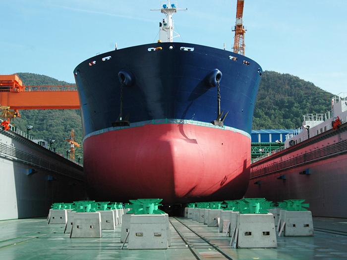 Laying Up Ship